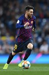 Lionel Messi Barcelona v Real Madrid Copa del Rey 2019 Prints