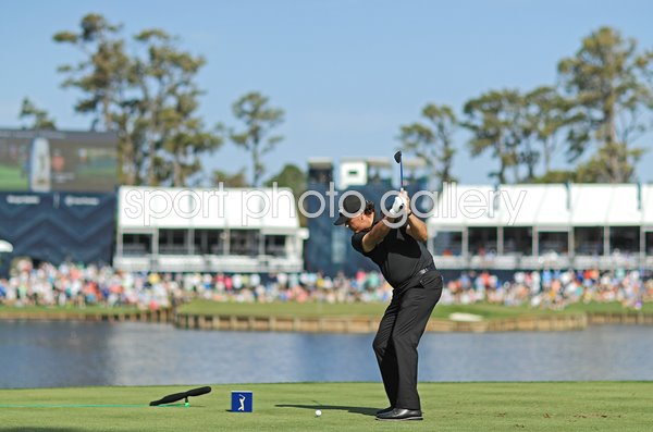 Phil Mickelson USA 17th Tee Players Championship TPC Sawgrass 2019