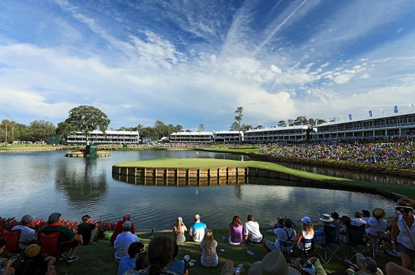 17th Hole TPC Sawgrass Players Ponte Vedra Florida 2017