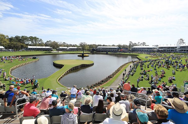 17th Hole TPC Sawgrass Players Ponte Vedra Florida 2019