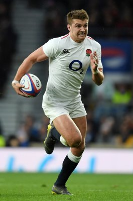 Henry Slade England v Scotland Twickenham 6 Nations 2019