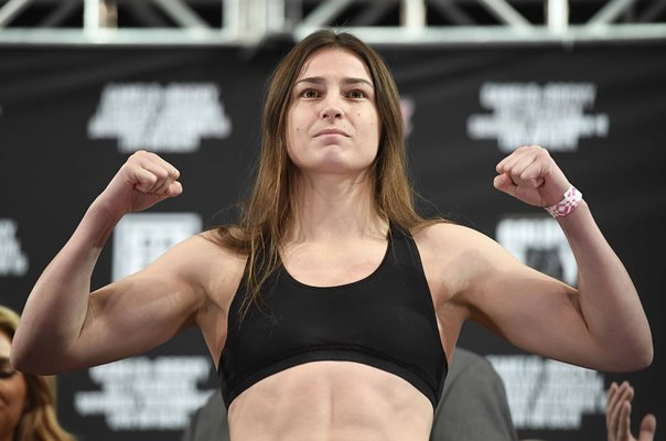 Katie Taylor Ireland Weighs in World Title Fight New York 2018