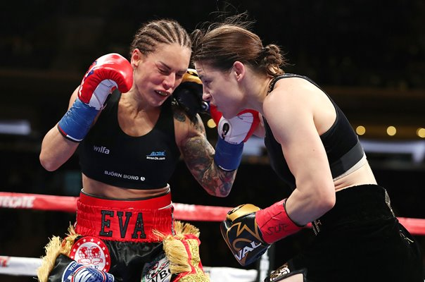 Katie Taylor v Eva Wahlstrom World Title Fight New York 2018