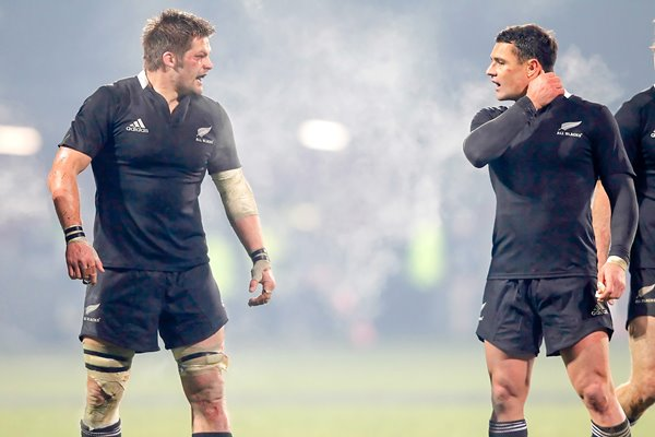 Richie McCaw and Dan Carter New Zealand 2012