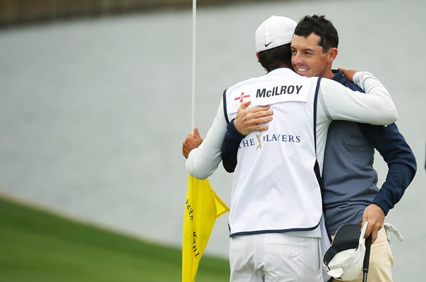 Rory McIlroy & Caddie Harry Diamond Players Championship 2019