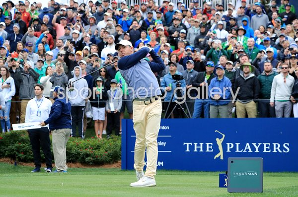 Rory McIlroy 18th Tee Final Round Players TPC Sawgrass 2019