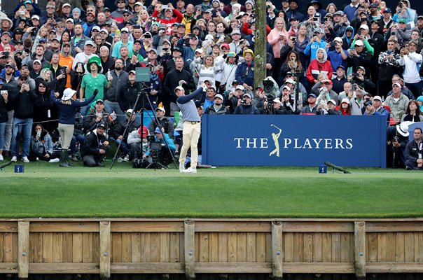 Rory McIlroy 17th Tee Final Round Players TPC Sawgrass 2019