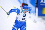 Dorothea Wierer Italy action Biathlon World Championships Sweden 2019 Prints