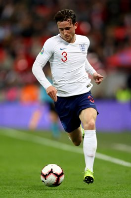 Ben Chilwell England v Czech Republic EURO 2020 Qualifier Wembley 2019