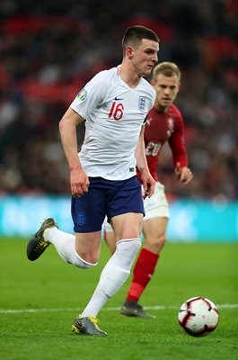 Declan Rice England v Czech Republic EURO 2020 Qualifier Wembley 2019