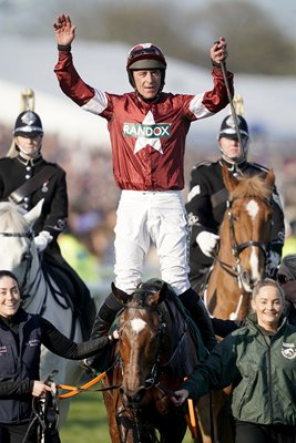 Davy Russell Tiger Roll 2019 Grand National Winner
