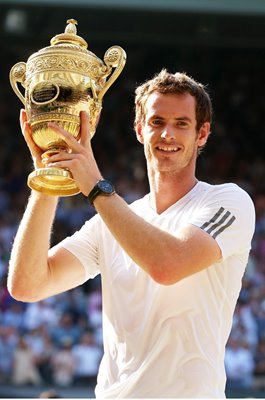 Andy Murray Great Britain Wimbledon Champion 2013