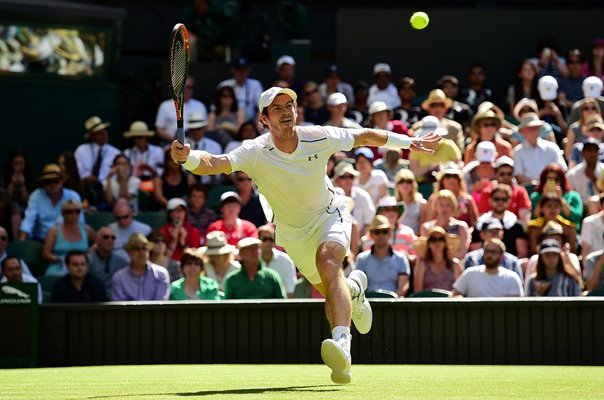 Andy Murray Great Britain Centre Court Wimbledon 2015