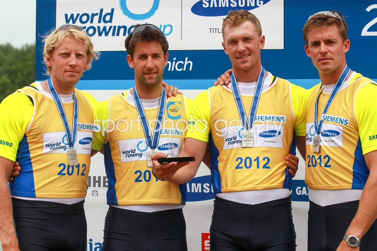 Great Britain coxless four World Cup 2012