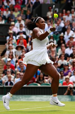 Serena Williams USA Forehand Wimbledon 2016