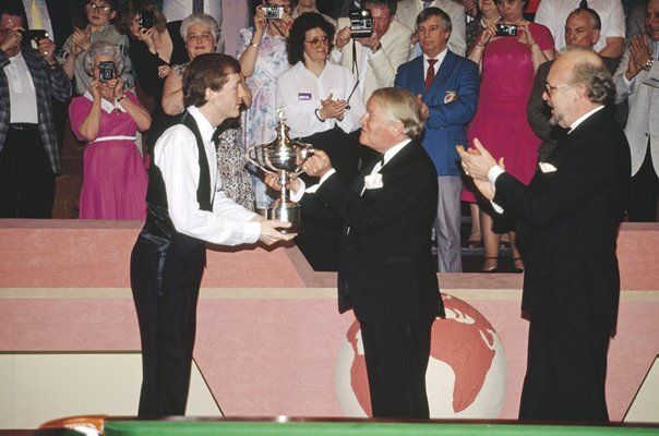 Steve Davis England World Snooker Champion 1989