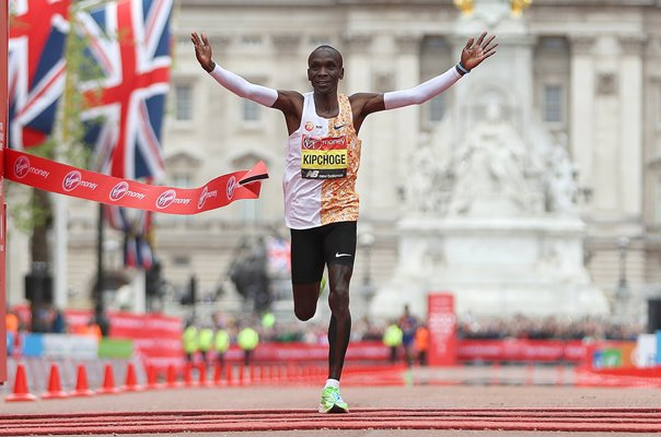 Eliud Kipchoge Kenya wins 4th London Marathon 2019