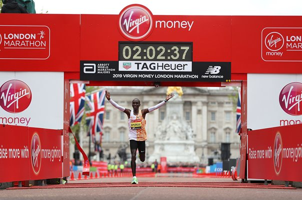 Eliud Kipchoge Kenya Race Record London Marathon 2019