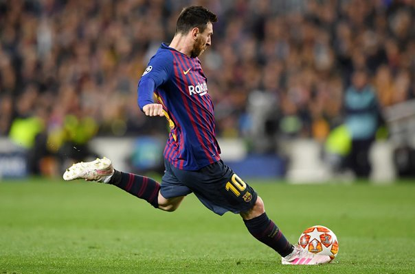 Lionel Messi Barcelona Free Kick Champions League Semi Final 2019