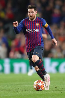 Lionel Messi Barcelona Champions League Semi Final Nou Camp 2019
