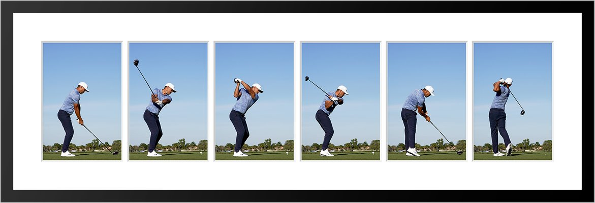 Brooks Koepka 2019 Down the Line Swing Sequence