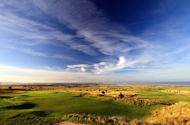 Gullane Golf Club 6th and 7th Holes East Lothian Scotland