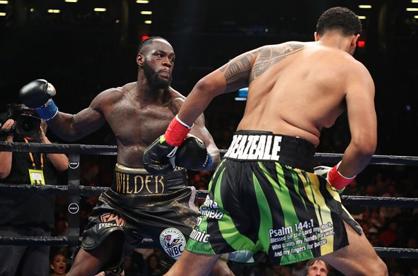 Deontay Wilder v Dominic Breazeale Heavyweight Boxing 2019