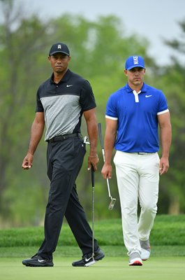Brooks Koepka & Tiger Woods USPGA Bethpage Black Course 2019