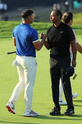 Brooks Koepka & Tiger Woods USPGA Bethpage Black 2019