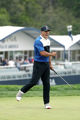 Brooks Koepka USA Celebrates USPGA Bethpage Black 2019