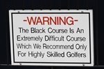 Bethpage Black Course Warning Sign USPGA New York 2019 Prints