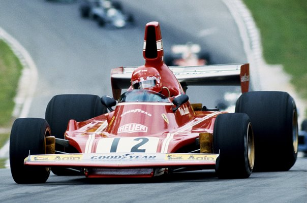 Niki Lauda Austria Ferrari British Grand Prix Brands Hatch 1974