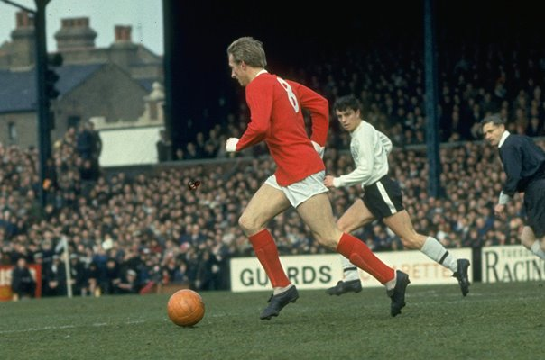 Dennis Law Manchester United Old Trafford 1967