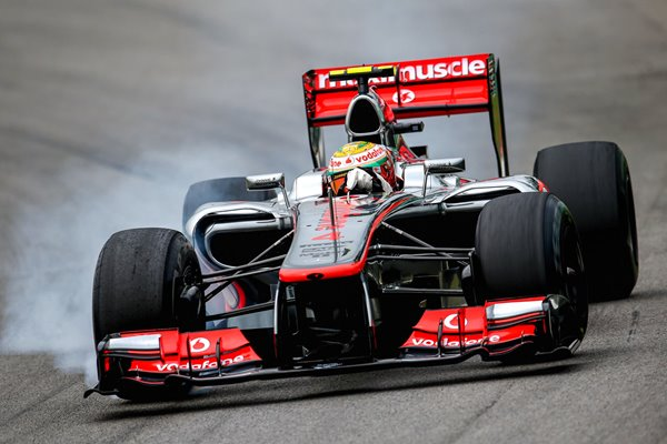 Lewis Hamilton Great Britain & McLaren Brazilian GP 2012