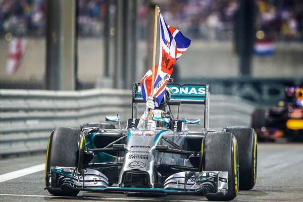 Lewis Hamilton Great Britain & Mercedes World Champion 2014