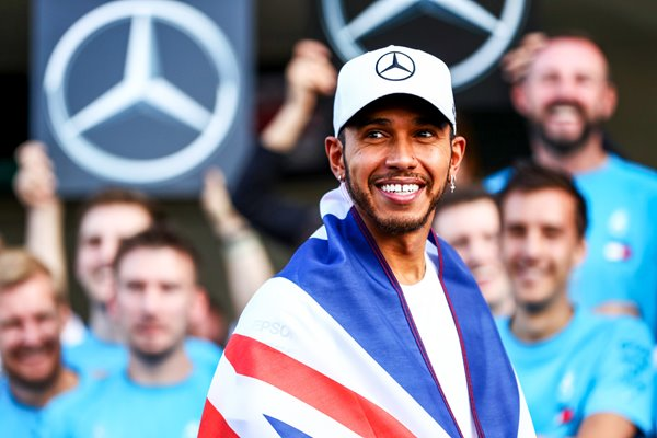 Lewis Hamilton Great Britain F1 World Champion 2018