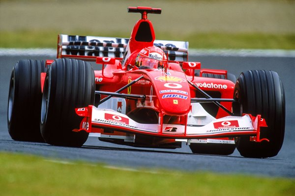 Michael Schumacher Germany & Ferrari Japanese GP Suzuka 2003