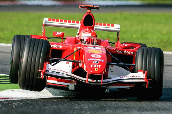 Michael Schumacher Germany & Ferrari Italian F1 GP 2005
