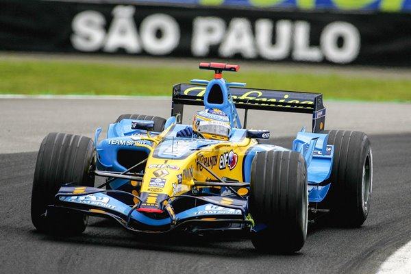 Fernando Alonso Spain & Renault Brazilien GP Interlagos 2012