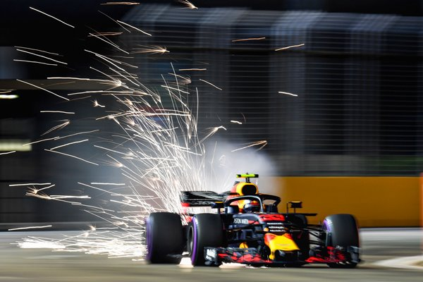Max Verstappen Netherlands & Red Bull Singapore GP 2018