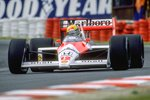 Ayrton Senna Brazil & McLaren Belgian Grand Prix Spa 1988 Wall Sticker