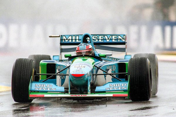 Michael Schumacher Germany Australian GP Adelaide 1994