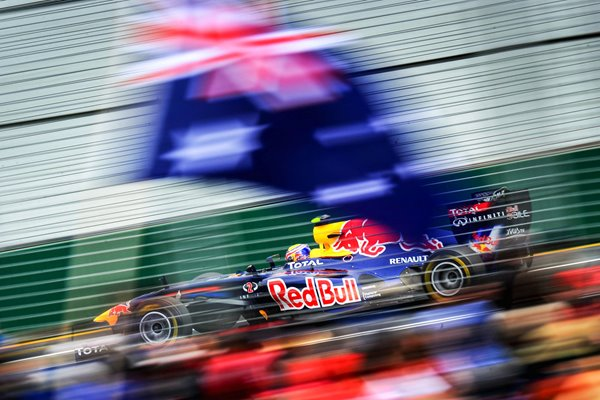 Mark Webber Red Bull Australian F1 Grand Prix 2011
