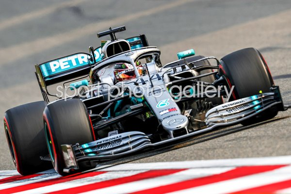 Lewis Hamilton Great Britain Chinese Grand Prix Shanghai 2019