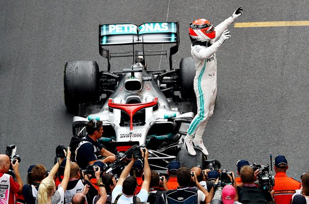 Lewis Hamilton Great Britain wins Monaco Grand Prix 2019