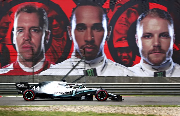 Lewis Hamilton Mercedes F1 Grand Prix of China 2019