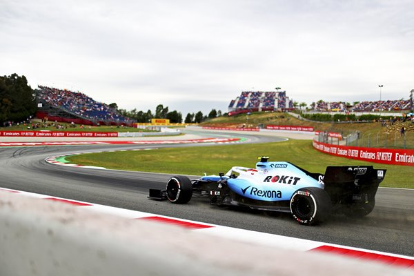 Robert Kubica Williams Grand Prix of Spain 2019