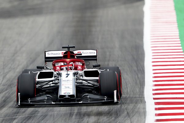 Kimi Raikkonen Alfa Romeo Grand Prix of Spain 2019