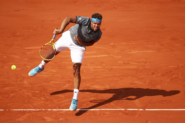 Jo-Wilfred Tsonga French Open Day Two 2019