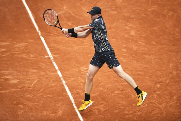 Kyle Edmund French Open Day Two 2019 Great Britain
